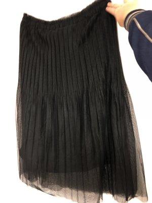Reserved Falda plisada negro