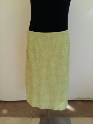 Burberry London Falda de lana verde pálido Lana