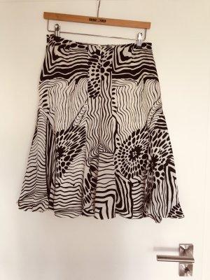 Alexander Zijden rok zwart-wit