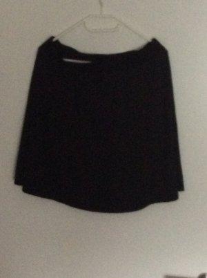 Street One Plaid Skirt black