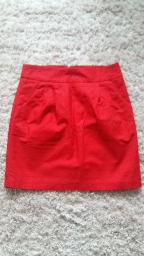Hallhuber Tulip Skirt red