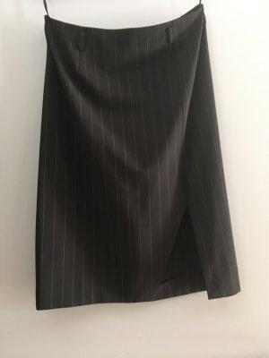 Apart Impressions Falda midi marrón oscuro-crema