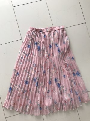 H&M Divided Pleated Skirt light pink-azure