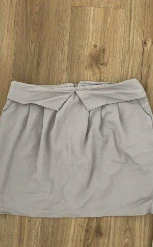 Collezione Miniskirt silver-colored mixture fibre