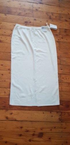 schoeller Jupe tricotée blanc laine
