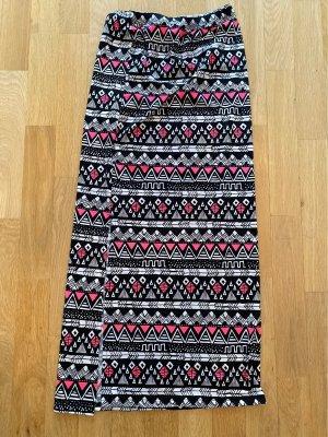 / Jupe stretch multicolore polyester