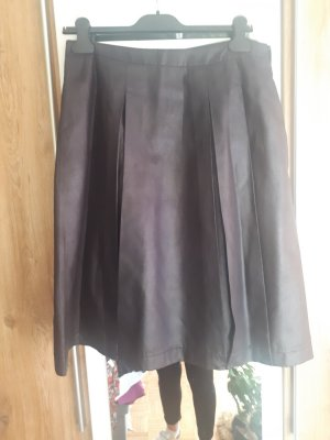 Jessica Faux Leather Skirt black