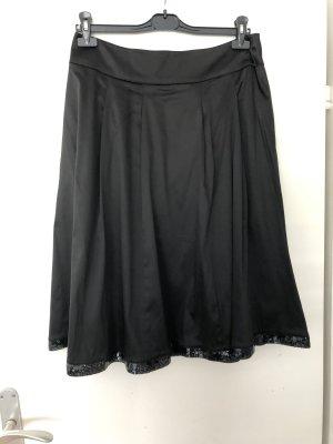Jake*s Zijden rok zwart
