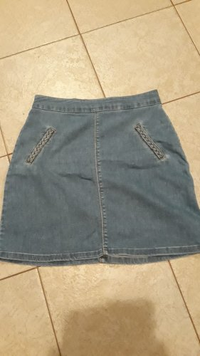 Pimkie Gonna di jeans blu acciaio