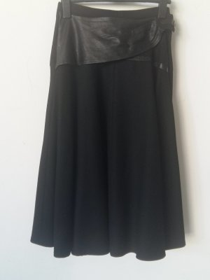 Circle Skirt black cotton
