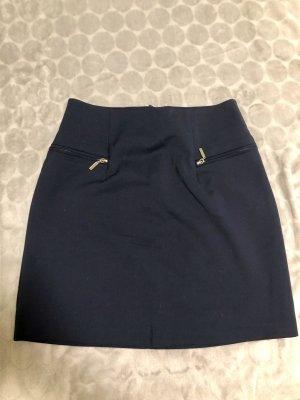 Orsay Falda de tubo azul oscuro