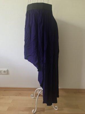 Forever 21 Broomstick Skirt lilac-black