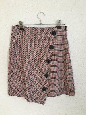 Tally Weijl Linen Skirt raspberry-red