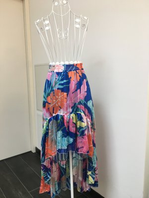 Broomstick Skirt multicolored polyester
