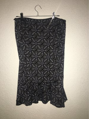 Biaggini Linen Skirt black