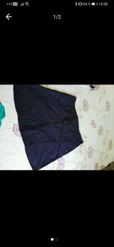 Falda estilo cargo azul oscuro