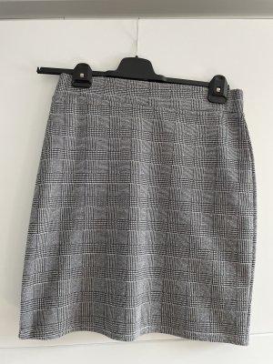 Sisters point Mini-jupe noir-gris