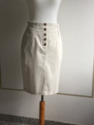 BC Ołówkowa spódnica beżowy Bawełna