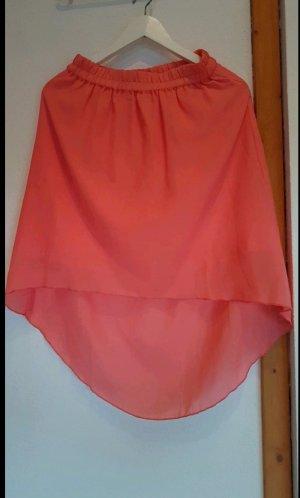 Vero Moda Asymmetry Skirt pink