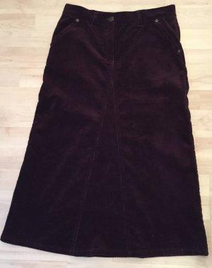 Kookai Ołówkowa spódnica brązowo-fioletowy