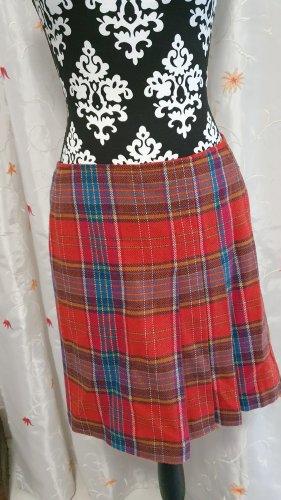 Montego Falda plisada rojo oscuro-rojo ladrillo