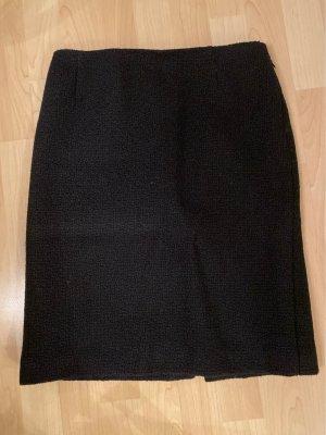 Prada Tweedowa spódnica czarny