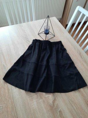 Only Jupe en cuir synthétique noir polyester