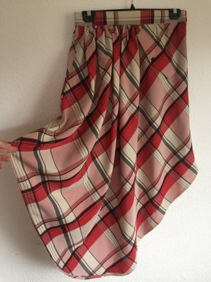 Plaid Skirt multicolored polyester