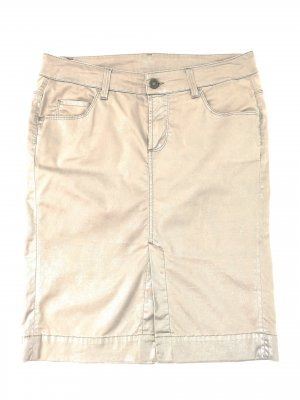 7 For All Mankind Kokerrok goud-wolwit