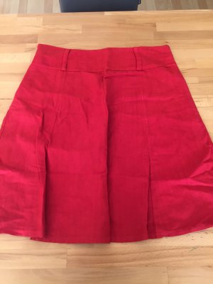 no name Flared Skirt red