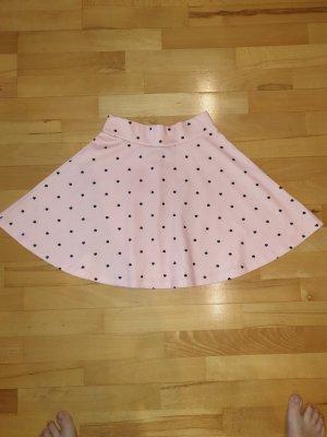 FB Sister Skater Skirt black-light pink