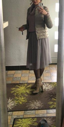 needle & thread Falda de tul malva-lila grisáceo