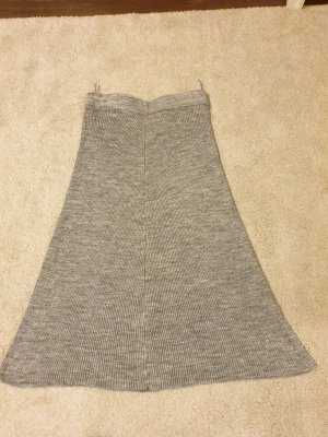 Koton Wool Skirt silver-colored-grey