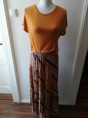 Primark Maxi rok bruin-licht Oranje