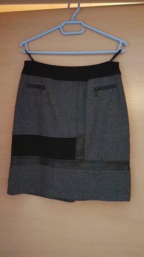 Steilmann Tweed Skirt black-anthracite