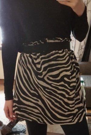 H&M Falda de tul blanco-negro
