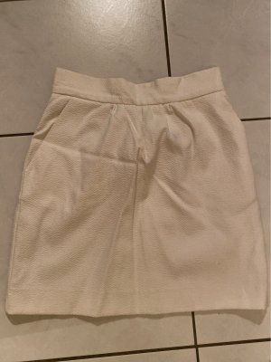 Mango Minifalda blanco puro