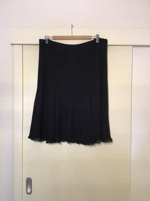 Madeleine Jupe en soie noir