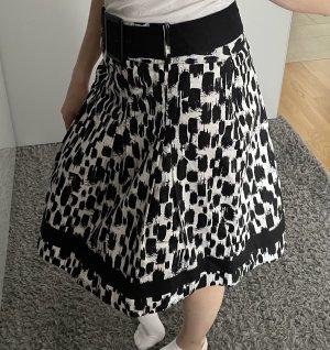 C&A Balonowa spódniczka czarny-biały