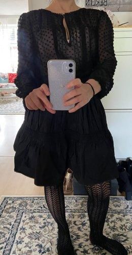 Zara Balloon Skirt black