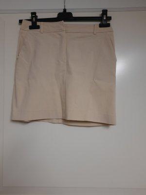 Style Spódnica mini kremowy