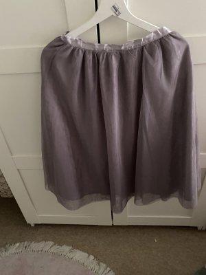 Amisu Tulle Skirt light grey