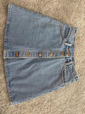 Monki Gonna di jeans azzurro