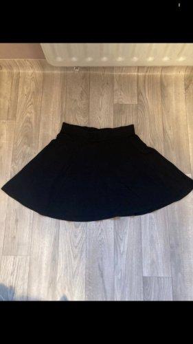 H&M Basic Skater Skirt black