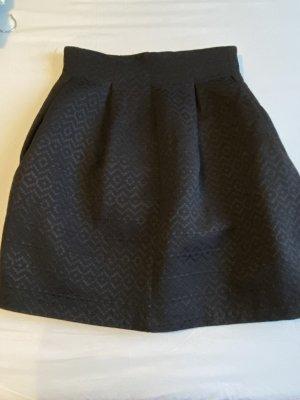 Promod Falda globo negro