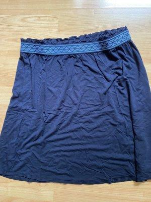 Street One Mini rok donkerblauw-neon blauw Viscose