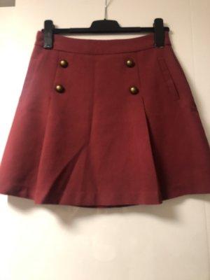 New Yorker Asymmetry Skirt carmine