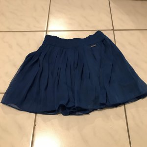 Abercrombie & Fitch Pleated Skirt blue
