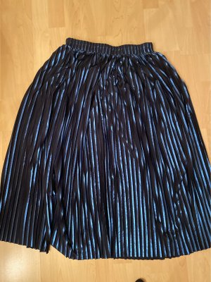 5 Preview Plaid Skirt dark blue