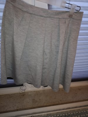 Amisu Jupe cargo gris clair